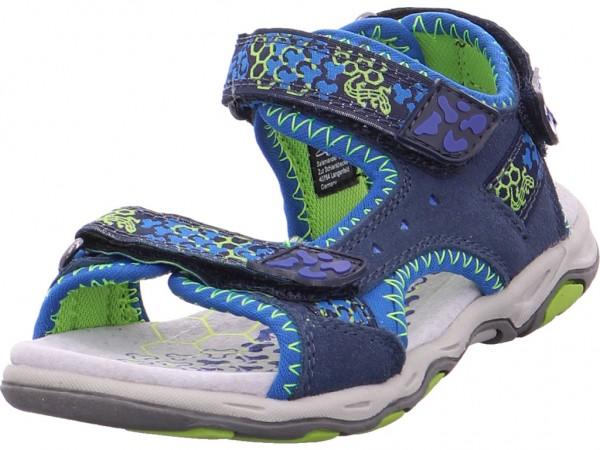 Lurchi BRIAN Jungen Sandale Sandalette Sommerschuhe blau 3321112-49