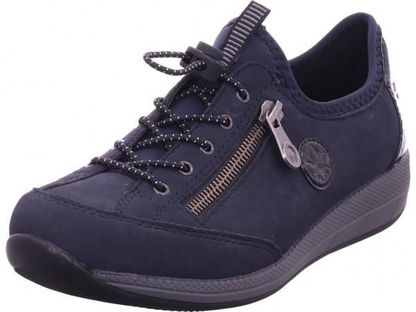 Rieker Herren Sneaker blau N1170-14