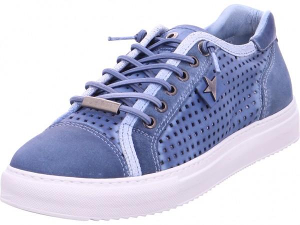 Cetti NV Herren Schnürschuh Halbschuh sportlich Sneaker blau C-1071-2/2