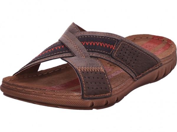 inblu Herren Pantolette Sandalen Hausschuhe braun OT474FF01