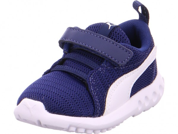 Puma Unisex - Baby Sneaker blau 190074