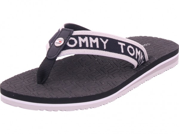 Tommy Hilfiger Damen Pantolette Sandalen Hausschuhe Clogs Slipper schwarz FW0FW04805