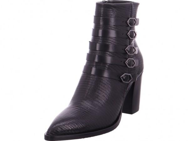 Zinda Damen Stiefelette schwarz-schwarz 3785
