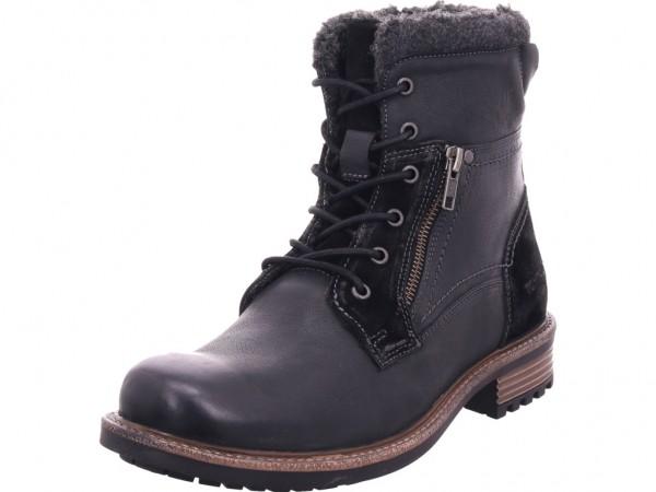 Tom Tailor Herren Stiefel Schnürstiefel warm sportlich Boots schwarz 7989203