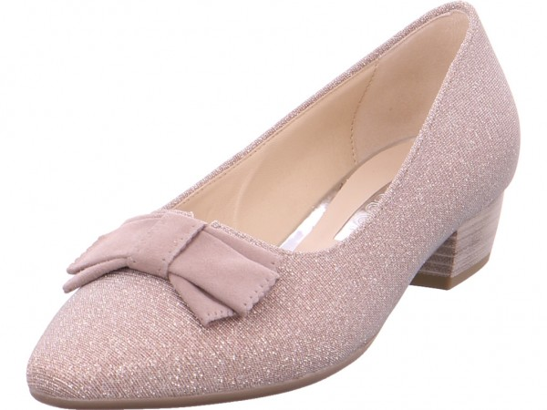 Gabor Pumps flach Ballerina rot 85.132.64
