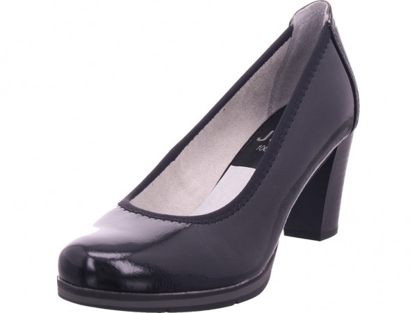 Jana Woms Court Shoe Damen Pumps elegant Abendschuhe Party Ball schwarz 8-8-22408-24/001-001