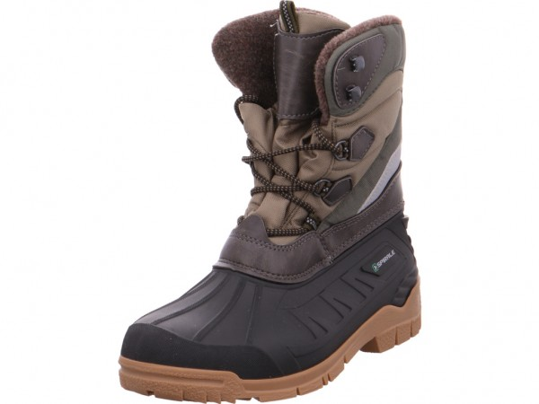 BOLD Herren Stiefel Boots Tex wasserdicht warm grün 99200