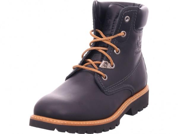Panama Jack Ginette B4 Napa Negro/Black Damen Stiefel Schnürer Boots Stiefelette zum schnüren schwarz Ginette B4 Napa Negro/Black