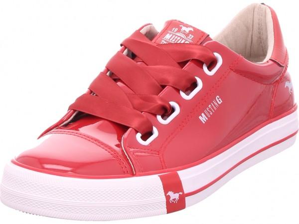 Bild 1 - Mustang Damen Sneaker rot 1313301-5