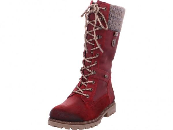 Remonte Damen Stiefel rot D7477-35