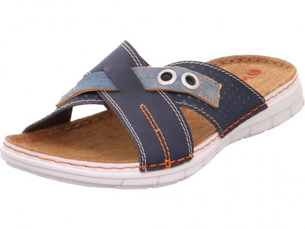 Bild 1 - Quick-Schuh Pantolett. Sp-Boden Herren Pantolette Sandalen Hausschuhe blau 1000347/8
