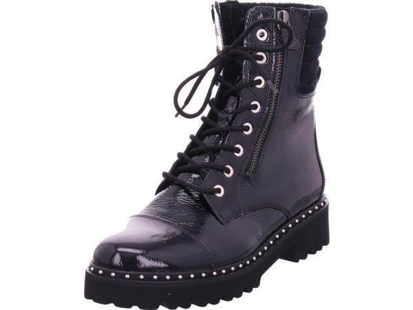 Gabor Damen Winter Stiefel Boots Stiefelette warm Schnürer schwarz 51.802.97