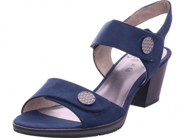 Jana Damen Sandale Sandalette Sommerschuhe blau 8-8-28308-24/805-805
