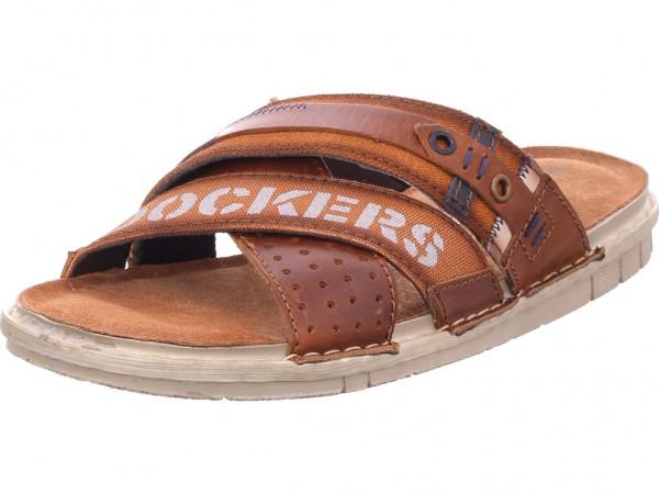 Dockers Herren Pantolette Sandalen Hausschuhe braun 44SB001187470