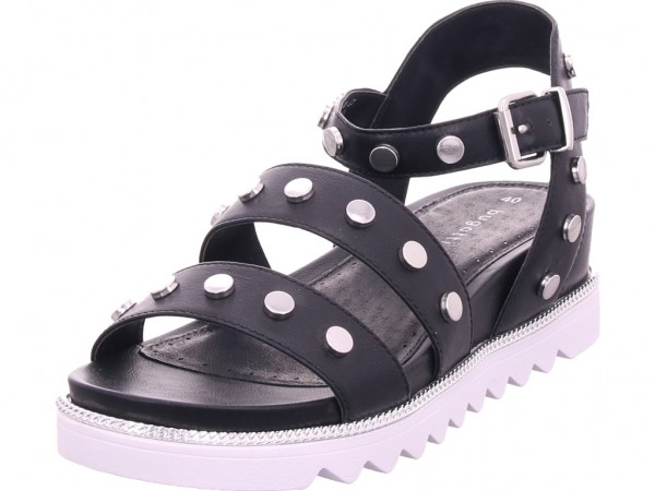 Bugatti Damen Sandale Sandalette Sommerschuhe schwarz 431675805900 1000