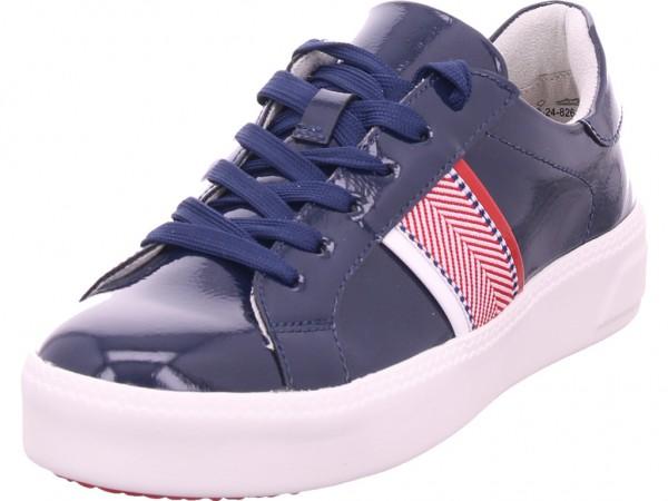 Tamaris Damen Halbschuh Sneaker Sport Schnürer zum schnüren blau 1-1-23750-24/826-826