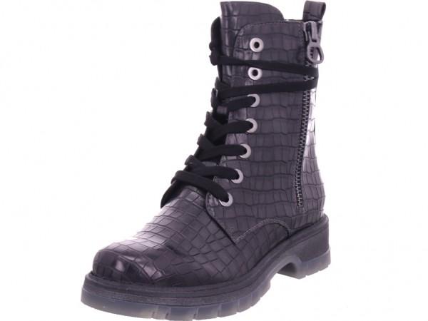 Marco Tozzi Damen Stiefelette Damen Stiefel Schnürer Boots Stiefelette zum schnüren grau 2-2-25215-25/215-215