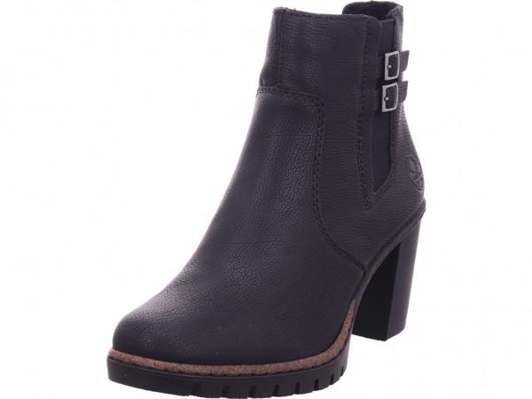 Rieker Damen Stiefel Stiefelette Boots elegant schwarz Y2569-00
