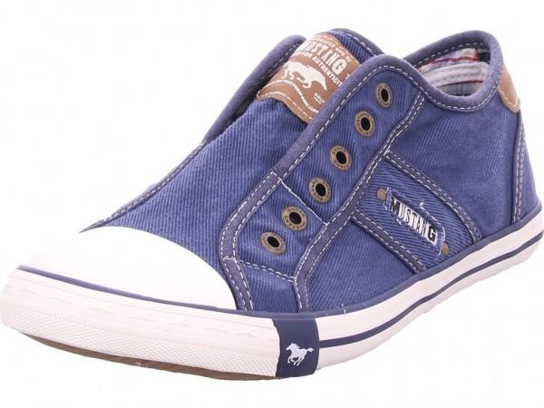 Mustang Herren Sneaker blau 4058401-841