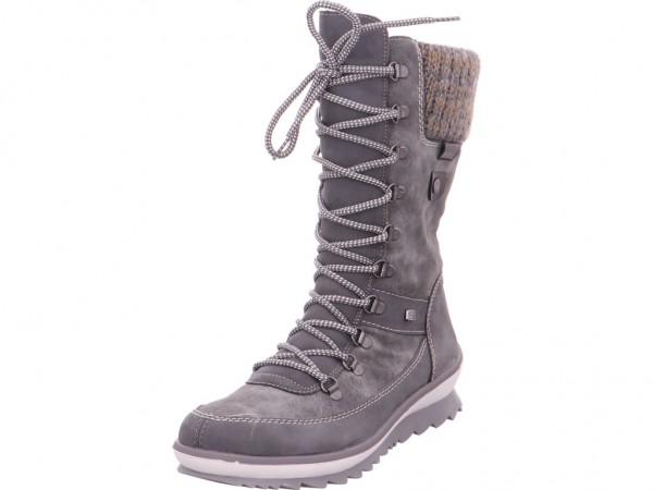 Remonte Damen Stiefel grau R4371-45