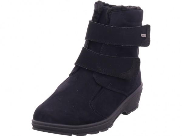 Rohde Damen Winter Stiefel Boots Stiefelette warm zum schlüpfen schwarz 2944-90