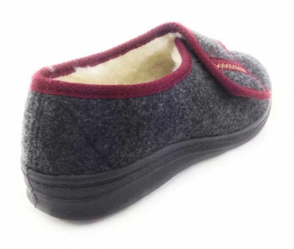 Bild 1 - Quick-Schuh Da-Haussch.Warmfutt Damen schwarz