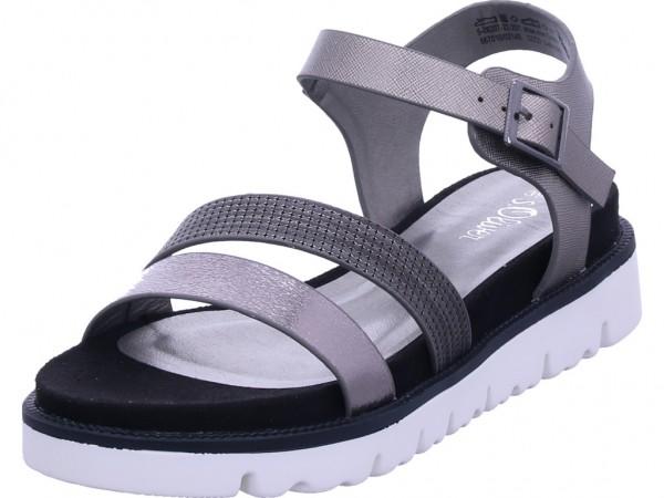s.Oliver Woms Sandals Damen Sandale Sandalette Sommerschuhe grau 5-5-28207-22/201-201