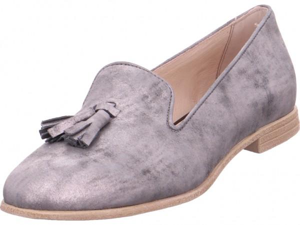 Mjus Damen Sneaker Slipper Ballerina sportlich zum schlüpfen grau 716116-0401-6488