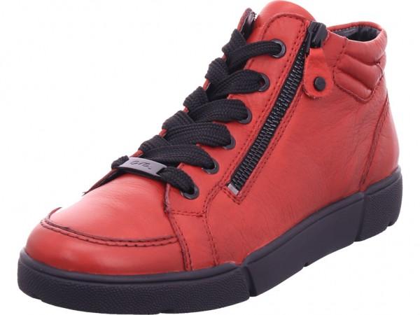 ara ROM Damen Stiefel Schnürer Boots Stiefelette zum schnüren rot 12-14435-05