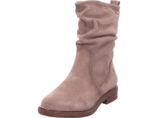 Jana Damen Winter Stiefel Boots Stiefelette warm zum schlüpfen beige 8-8-26403-23/341-341