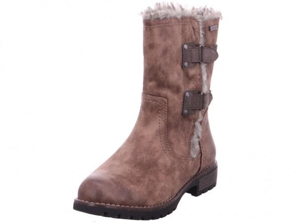 Jana Woms Boots Damen Stiefelette beige 8-8-26437-21/341-341