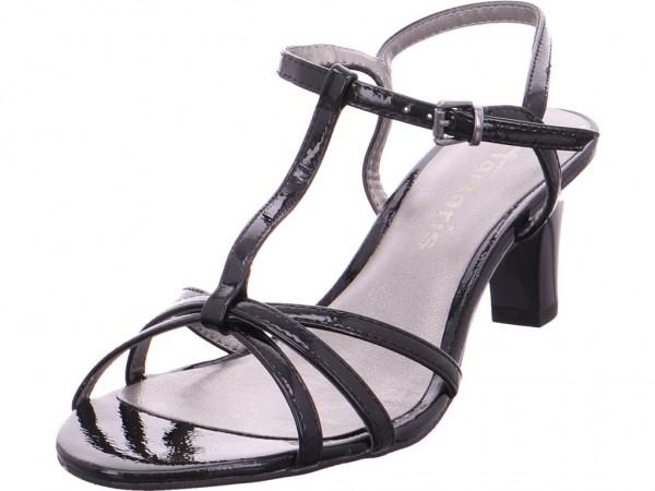 Tamaris Da.-Sandalette Damen Sandale Sandalette Sommerschuhe schwarz 1-1-28329-20/018-018