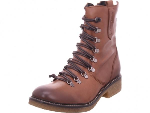 Camel Active Palm Damen Stiefel Schnürer Boots Stiefelette zum schnüren braun 869.76.01