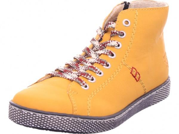 Rieker Damen Stiefel Schnürer Boots Stiefelette zum schnüren gelb Z1210-68