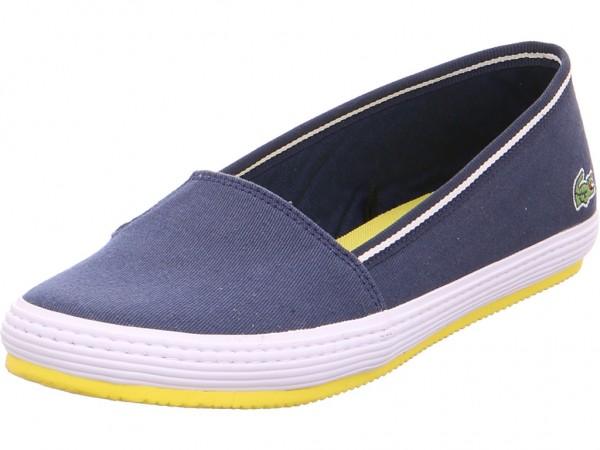 Lacoste Damen Sneaker Slipper Ballerina sportlich zum schlüpfen blau 733CAW1043003