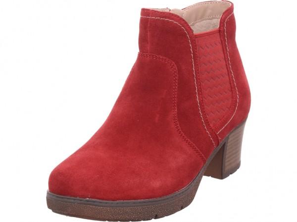 Jana Damen Stiefelette Damen Stiefel Stiefelette Boots elegant rot 8-8-25307-23/533-533