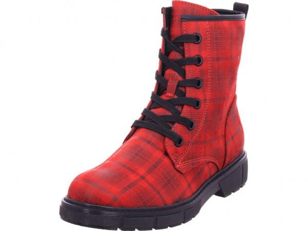 Marco Tozzi Damen Winter Stiefel Boots Stiefelette warm Schnürer rot 2-2-25283-25/530-530