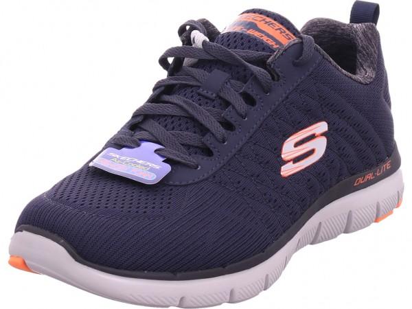 SKECHERS FLEX ADVANTAGE Herren Sneaker blau 52185 DKNV