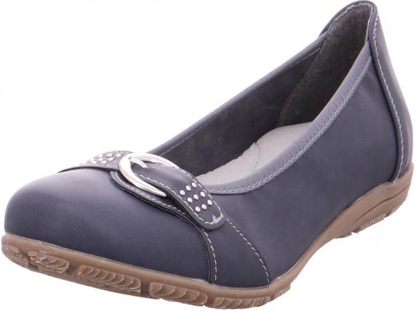 firence 221044062,NAVY Damen Pumps flach Ballerina blau 221044062