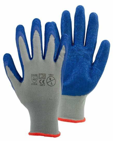 WorkPower Arbeitshandschuh  NOX 6er Pack blau 12037