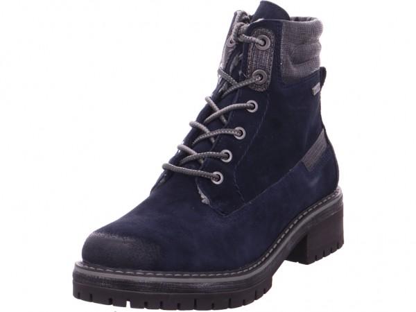 Jana Damen Stiefelette blau 8-8-26105-21/805-805