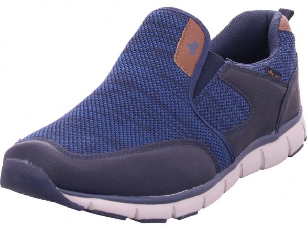 Lico Carlton Herren Schnürschuh Halbschuh sportlich Sneaker blau 590279