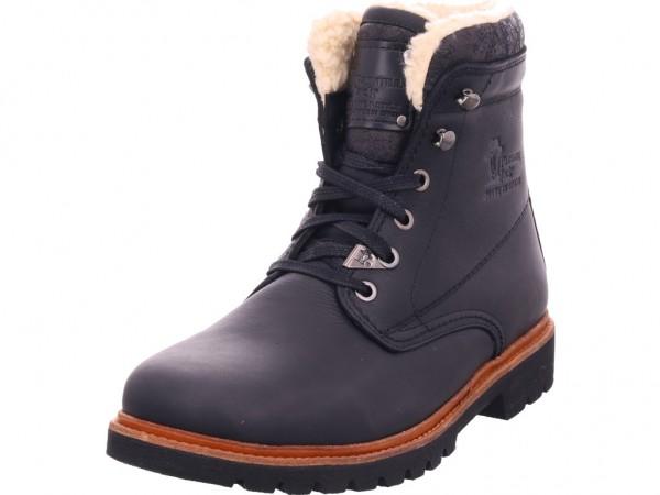 Panama Jack Herren Stiefel Schnürstiefel warm sportlich Boots schwarz Panama 03 Aviator C2 Napa