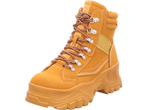 BUFFALO Damen Stiefel Stiefelette Boots elegant beige 1284071