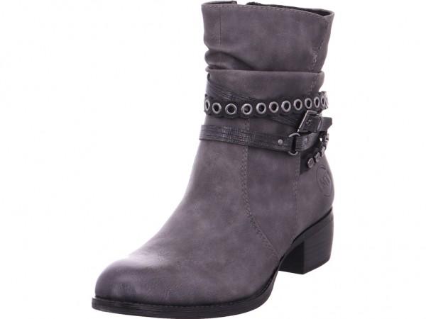 Marco Tozzi Da.-Stiefel Damen Winter Stiefel Boots Stiefelette warm zum schlüpfen grau 2-2-25316-31/226-226