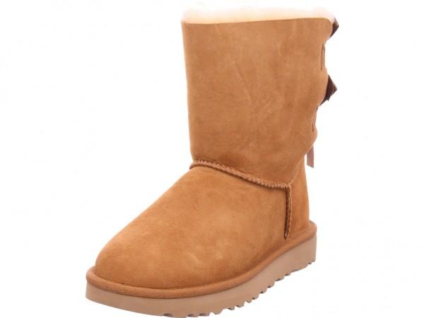 UGG Bailey Bow II Chestnut Damen Stiefel Schnürstiefel warm sportlich Boots braun 1016225 CHE