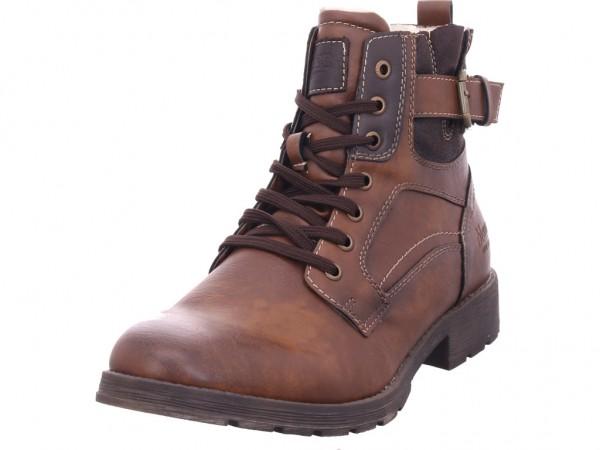 Montega Herren Stiefel Schnürstiefel warm sportlich Boots braun 162370025