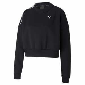 Puma Train Zip Crew Sweatshirt Damen schwarz 519480