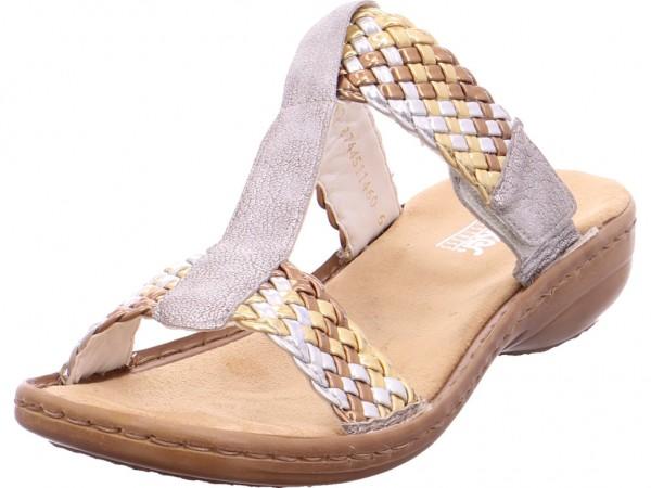 Rieker Damen Pantolette Sandalen Hausschuhe Clogs Slipper Sonstige 608P5-90