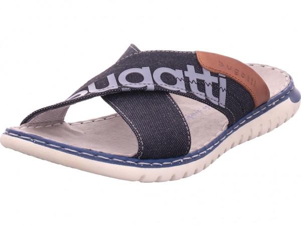 Bugatti Herren Pantolette Sandalen Hausschuhe schwarz 3217078569001000